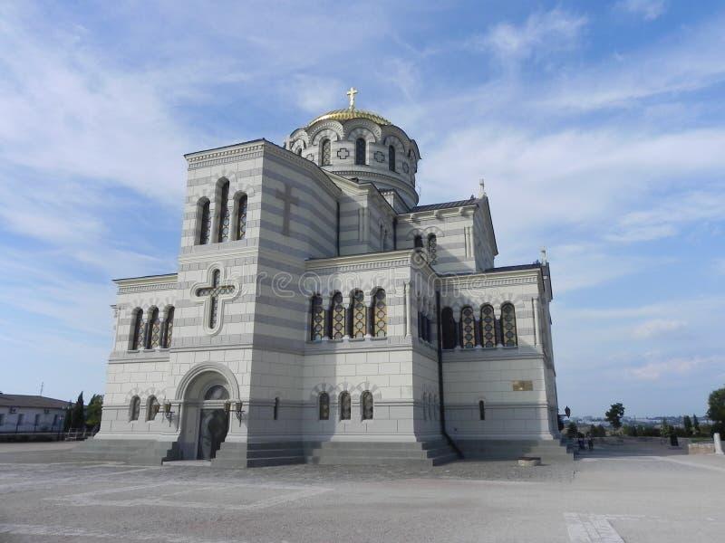 Hersonissos, kościół obrazy stock