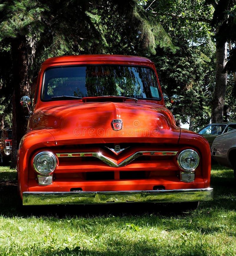 Hersteld Antiek Ford Truck royalty-vrije stock afbeelding