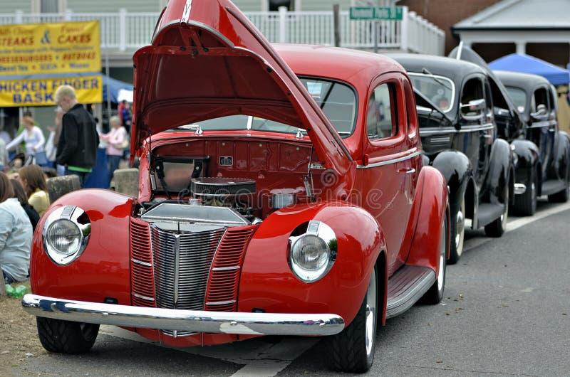 Herstelde Klassieke Auto's royalty-vrije stock fotografie