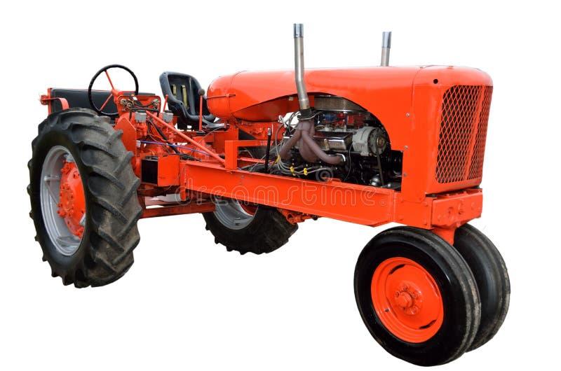 Herstelde uitstekende tractor royalty-vrije stock foto's