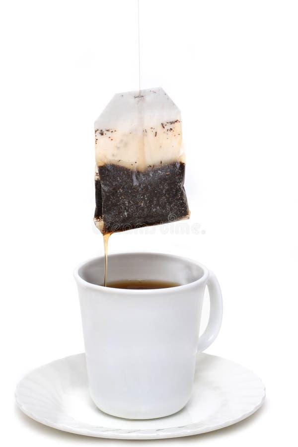 Herstellung des Tees stockbilder