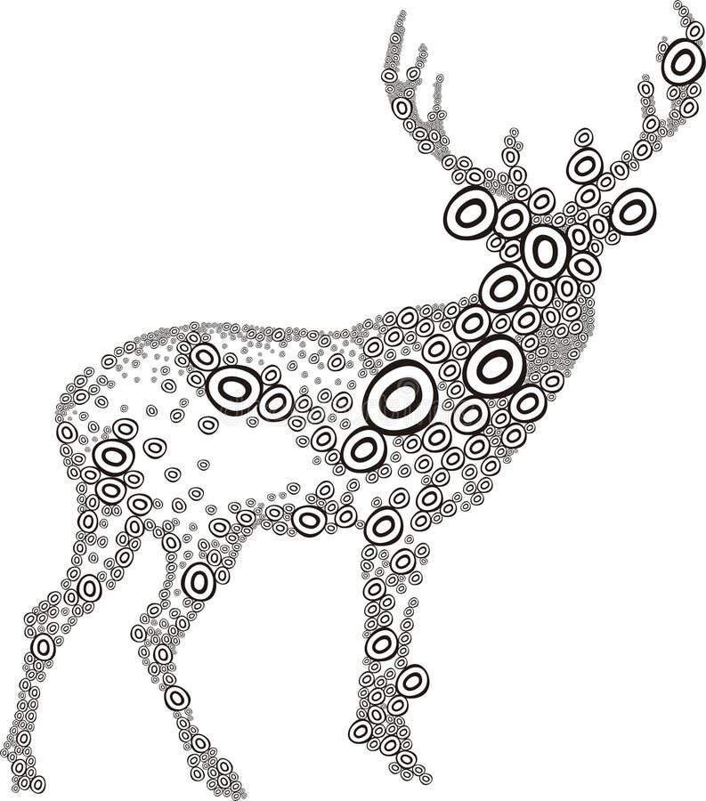 Herten royalty-vrije illustratie