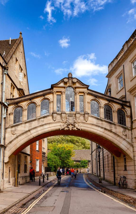 Hertford-Brücke University of Oxford Oxfordshire Südost-Engl. stockfotos