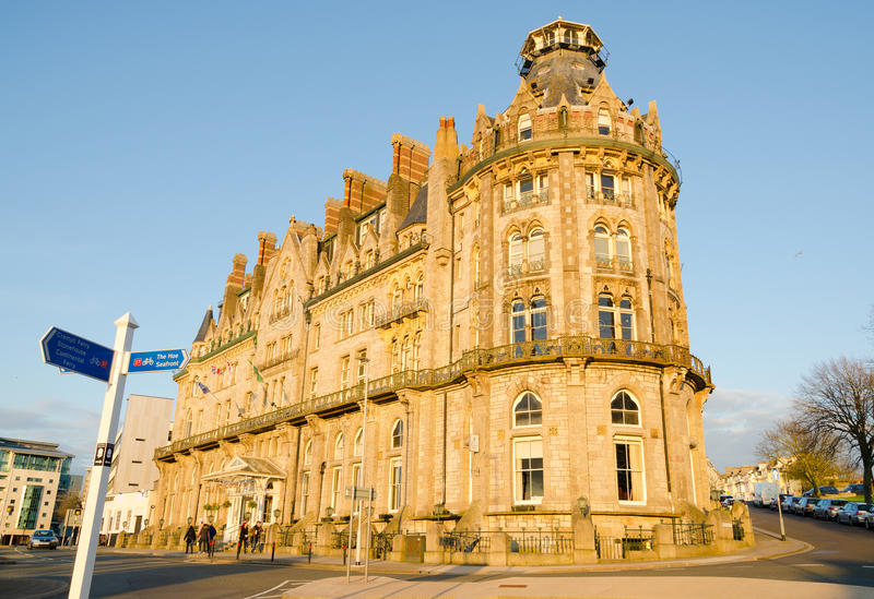 Hertig av det Cornwall hotellet, Plymouth royaltyfria bilder