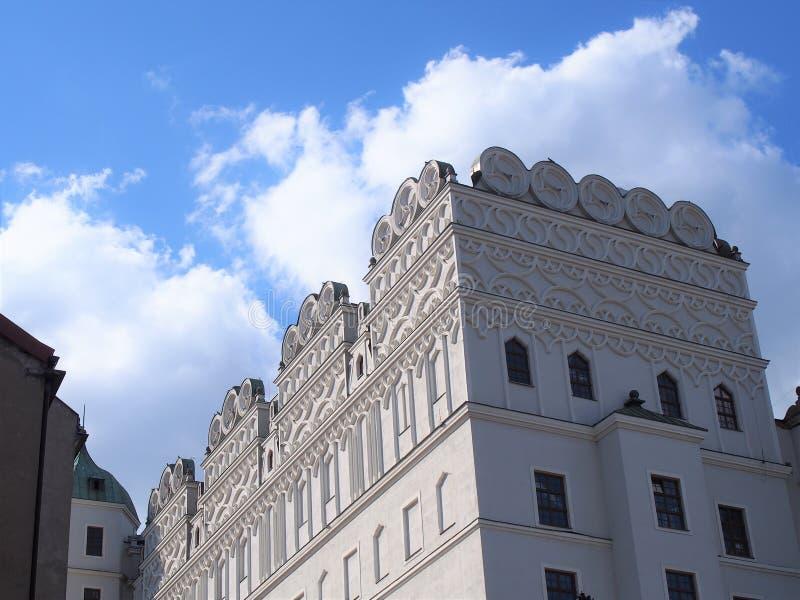 Hertiglig slott av Szczecin Polen royaltyfria bilder