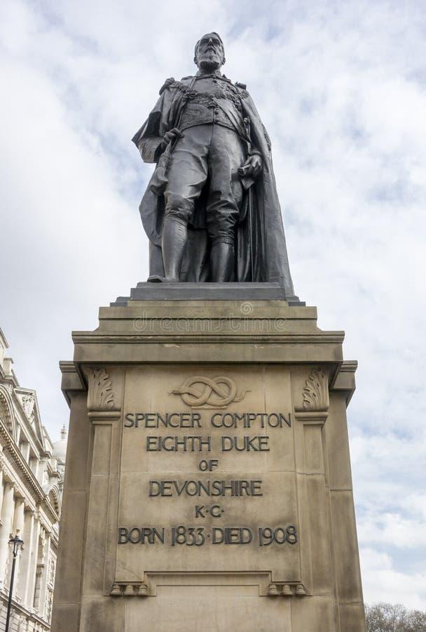 Hertog van Devonshire stock foto