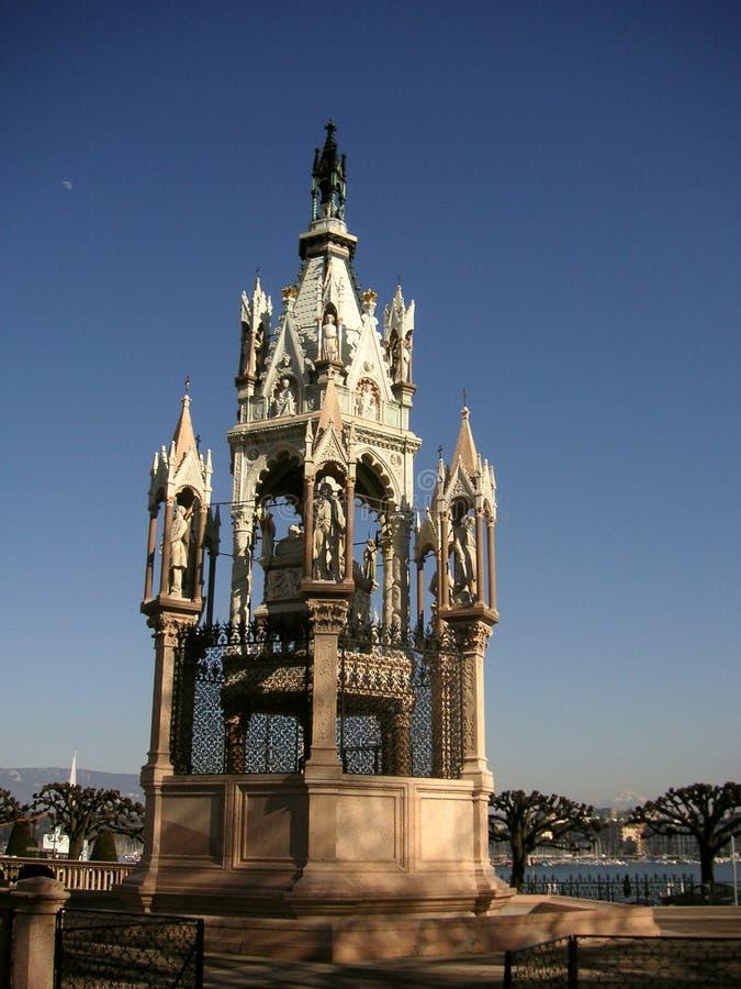 Hertog van het Mausoleum van Brunswick stock afbeelding