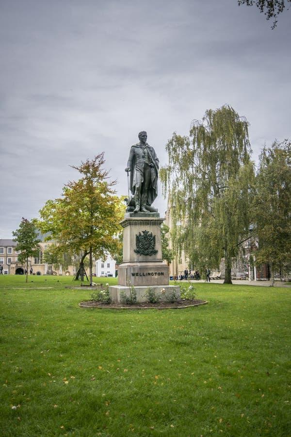 Hertog van het standbeeld van Wellington royalty-vrije stock foto's