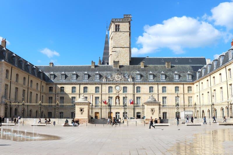 Hertogelijk Paleis in Place DE La Libération, Dijon, Frankrijk royalty-vrije stock foto
