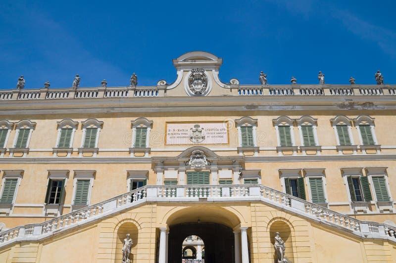 Hertogelijk Paleis van Colorno. Emilia-Romagna. Italië. stock afbeelding