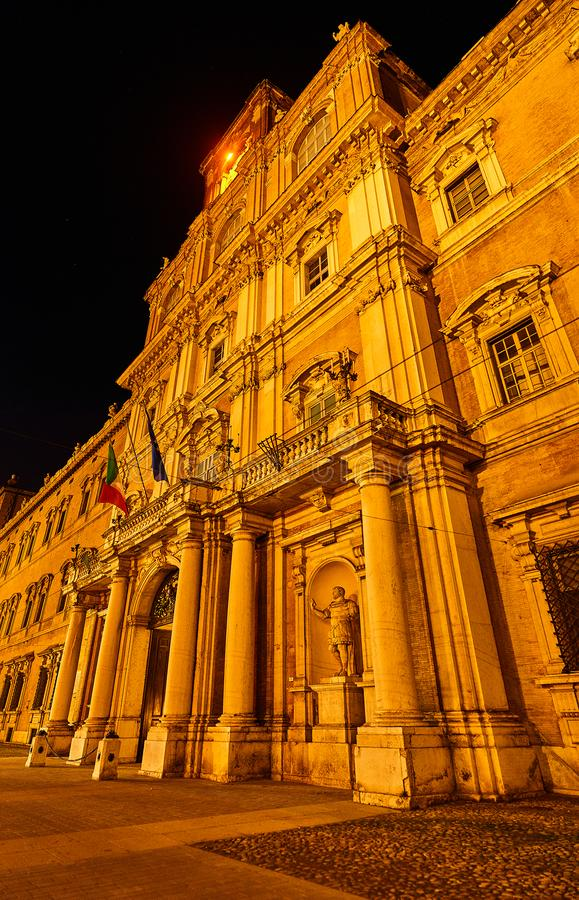 Hertogelijk Paleis van Modena in Modena, Italië royalty-vrije stock fotografie