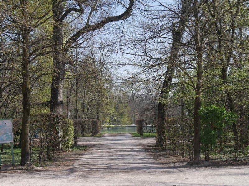 Hertogelijk Park in Parma stock afbeeldingen