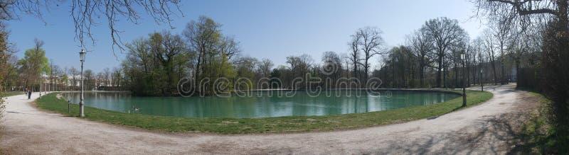 Hertogelijk Park in Parma stock fotografie