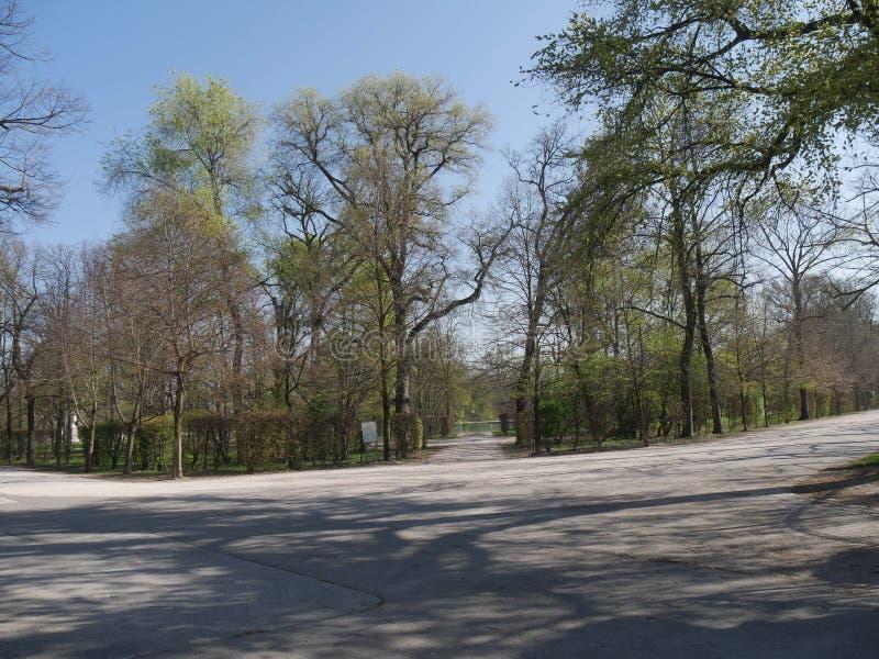 Hertogelijk Park in Parma stock afbeelding
