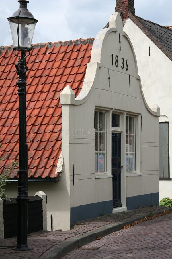 Hervorragendes holländisches Haus lizenzfreie stockbilder