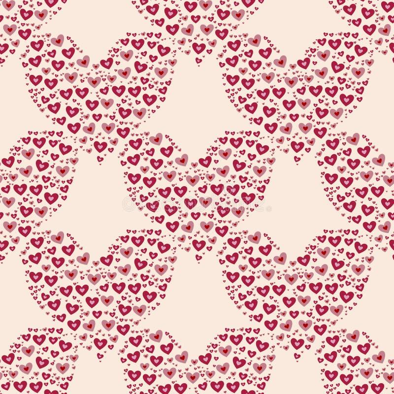 Herz auf rotem Hintergrund stockfotos