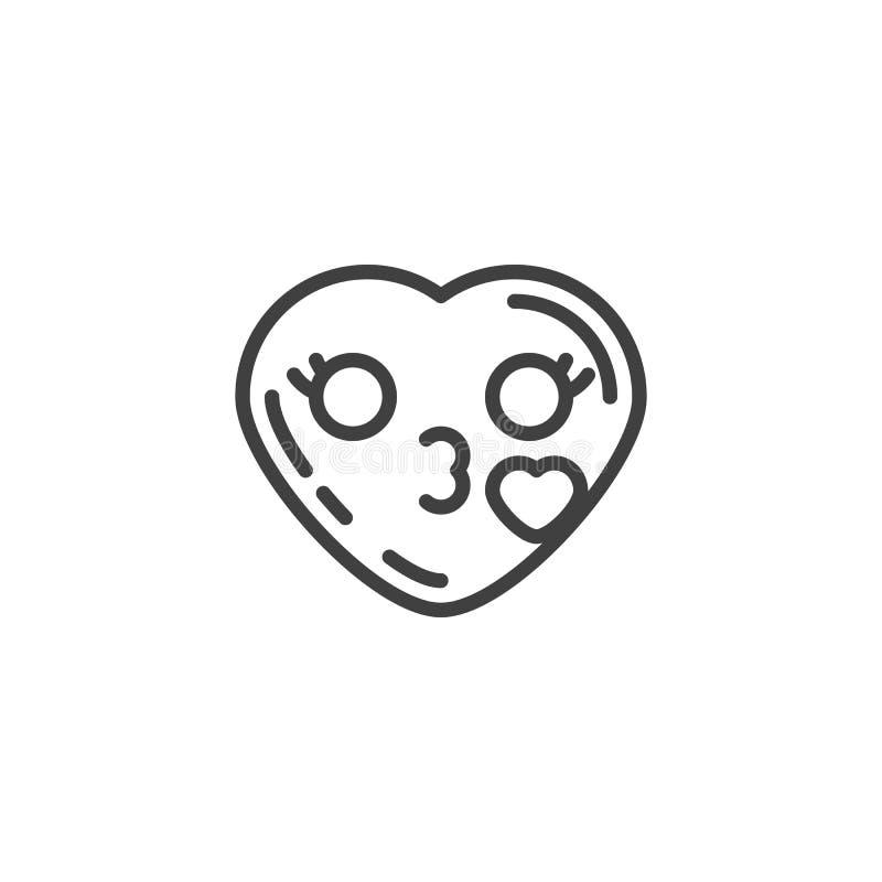 Smiley kuss zeichen herz Kuss Emoji
