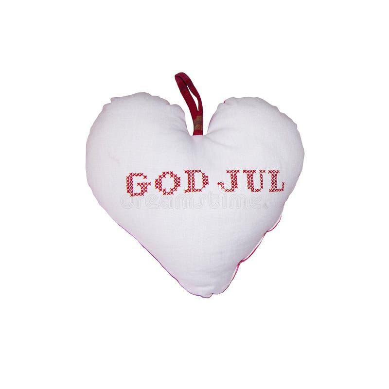 Herz-Gott Jul stockfoto
