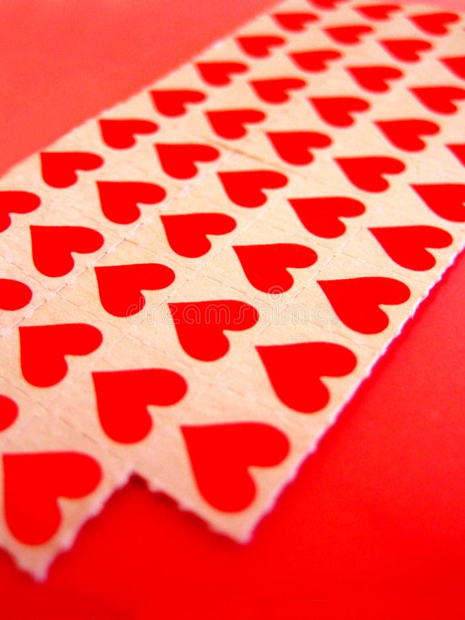 Herz LSD tapeziert Makrohintergrund und Tapeten in den super feinen Drucken der hohen Qualität stockfoto