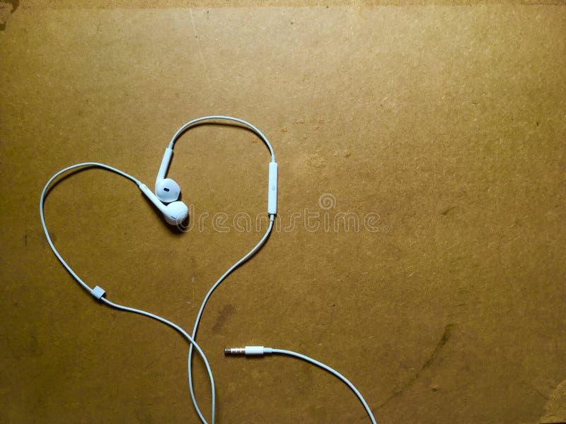 Herz mögen Musik lizenzfreie stockbilder