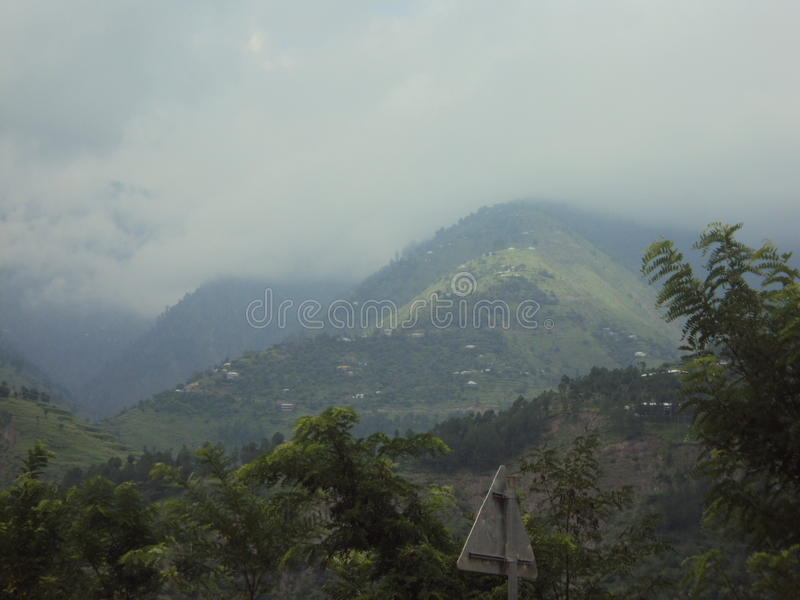 Herz-rührende und attraktive Sierra nahe Balakot, Pakistan lizenzfreies stockbild