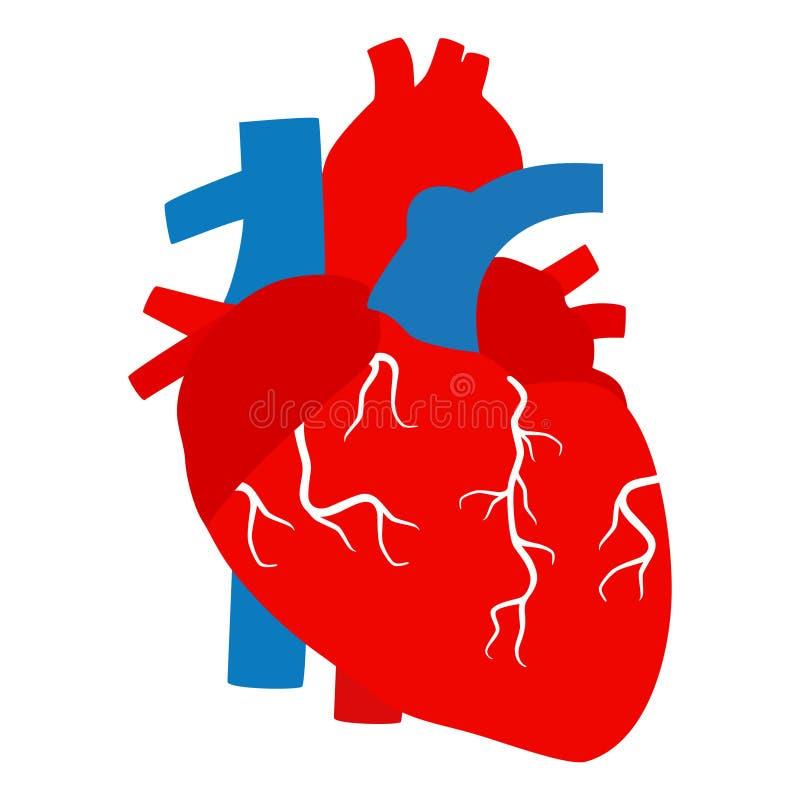 Herz-Vektorclipart Entwurf lizenzfreie abbildung
