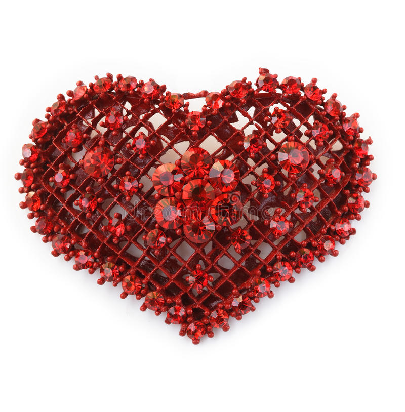 Herzedelstein stockfoto