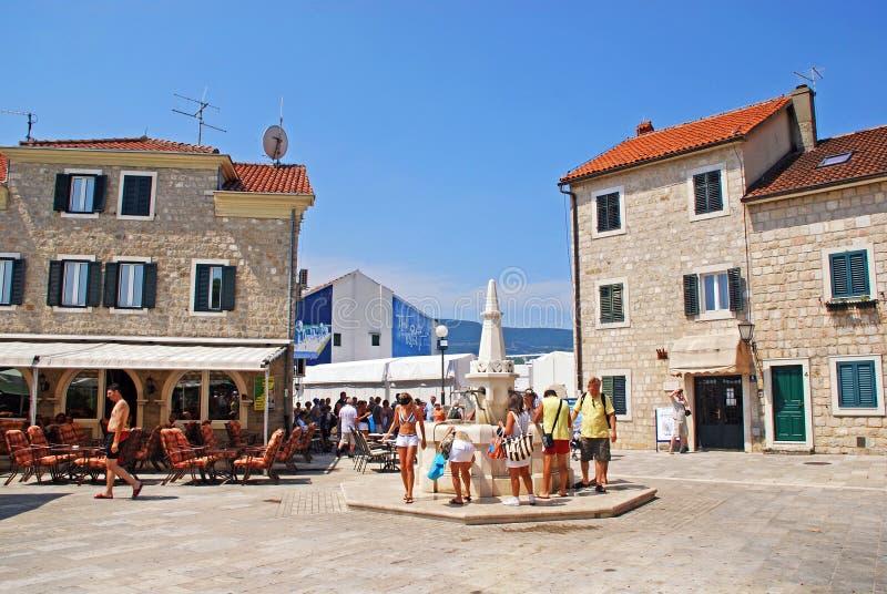 Herzeg Novi, Montenegro immagini stock libere da diritti