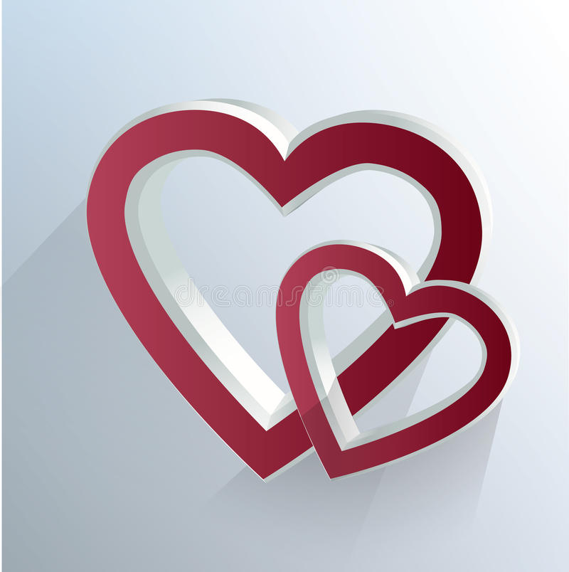 Herzen vektor abbildung