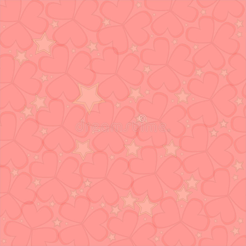 Herzen, Valentine Background stockbild