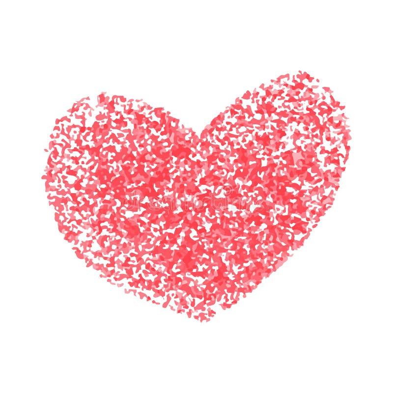 Herzen von plätschern stock abbildung