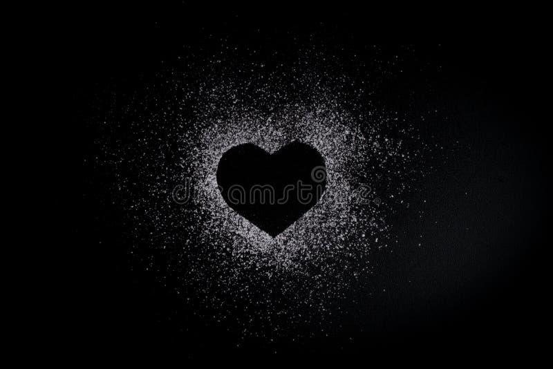 Romantische Liebe machen Schwarz
