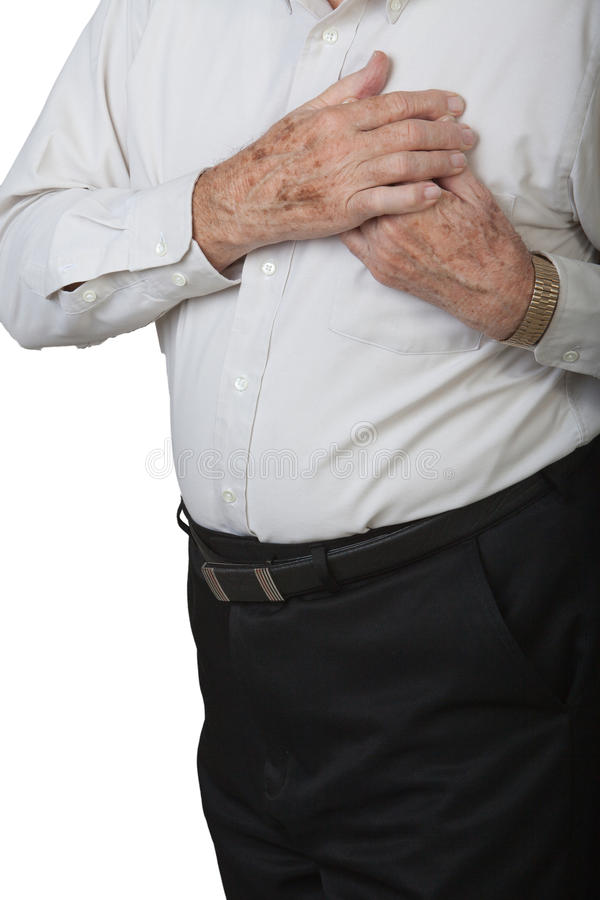 Herzinfarkt lizenzfreie stockfotos