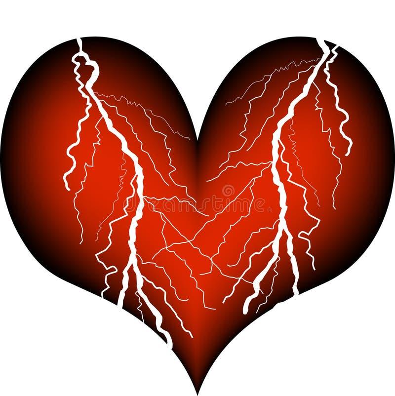 Herzinfarkt vektor abbildung