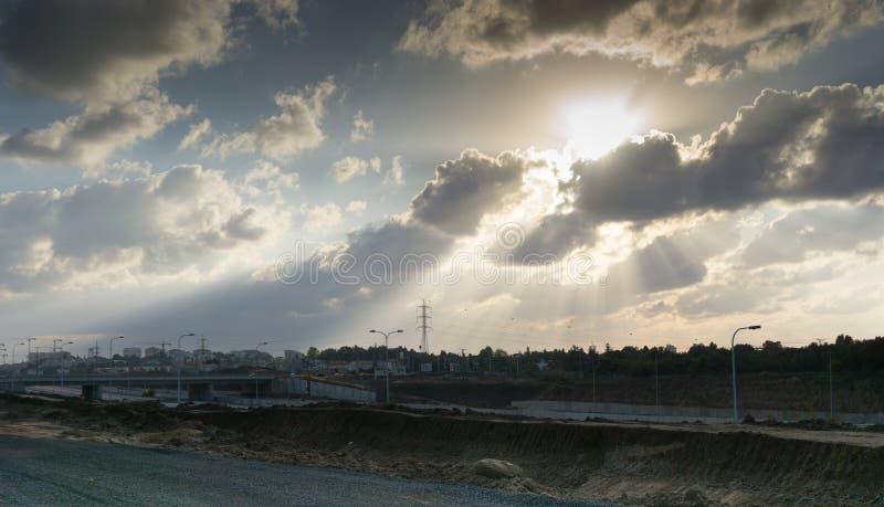 Herzlia风景  免版税库存图片