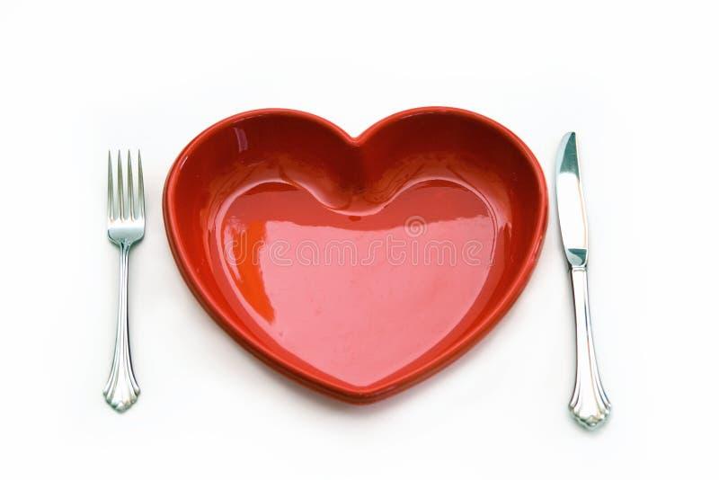 Herzliches Essen stockfoto