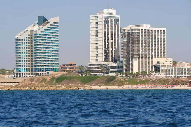 Herzliya Pituah - Israel royaltyfri fotografi
