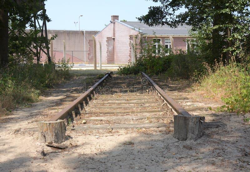 Herzogenbusch或阵营Vught集中营在荷兰 免版税图库摄影