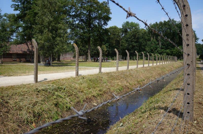 Herzogenbusch或阵营Vught集中营在荷兰 免版税库存照片