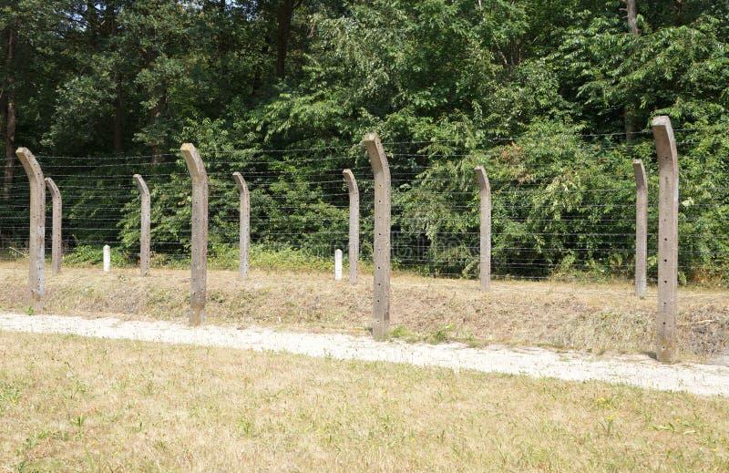 Herzogenbusch eller lägerVught koncentrationsläger i Nederländerna royaltyfria foton