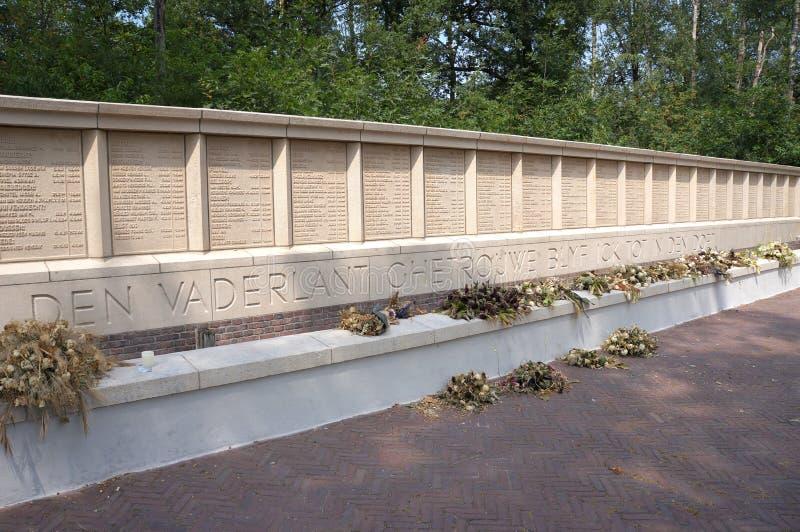 Herzogenbusch of Kamp het concentratiekamp van Vught in Nederland royalty-vrije stock foto's