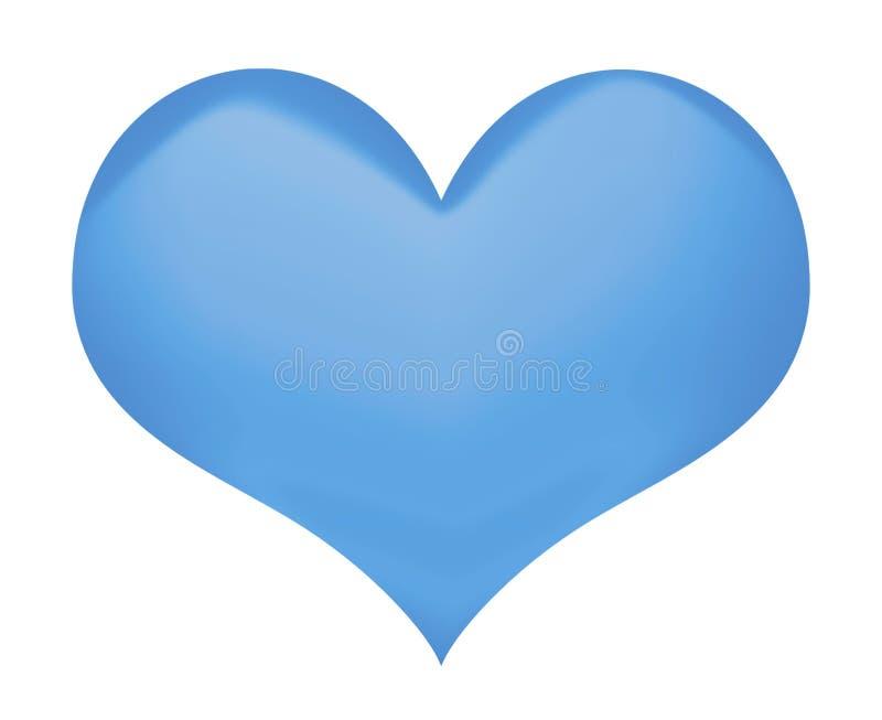 Herzsymbol lokalisiert stockbild