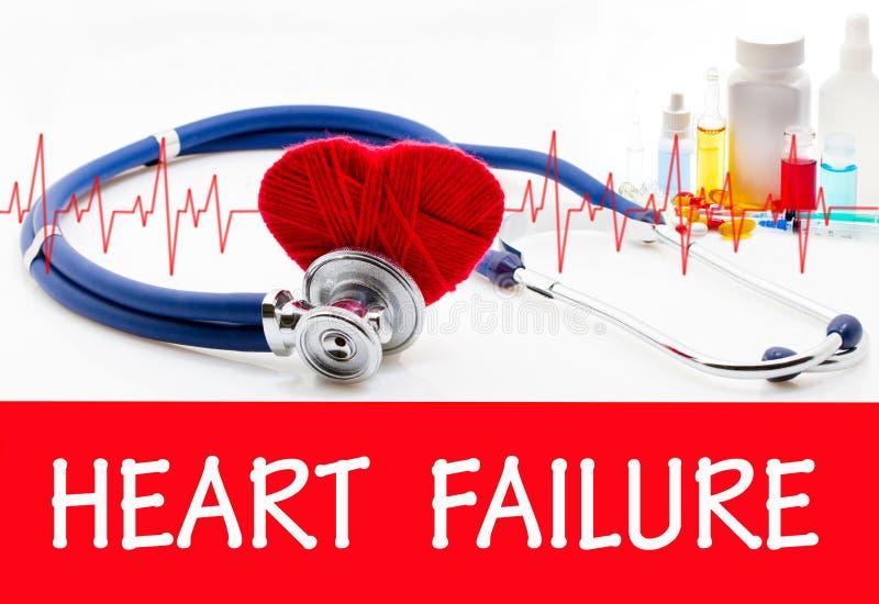 Herzversagen lizenzfreies stockbild