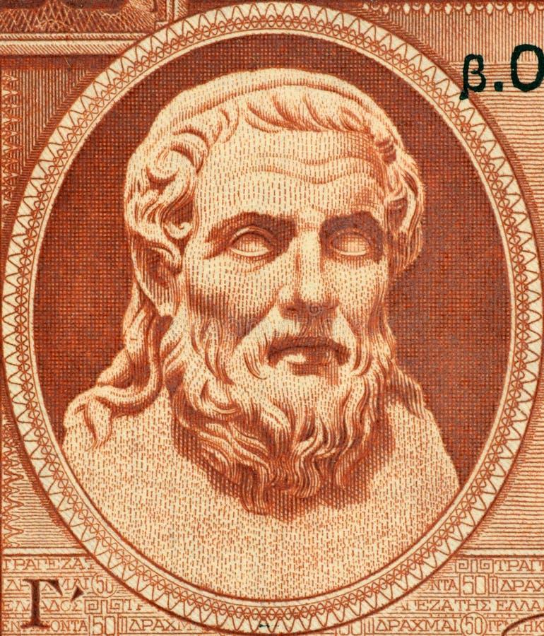 Download Hesiod stock illustration. Illustration of european, portrait - 12265856