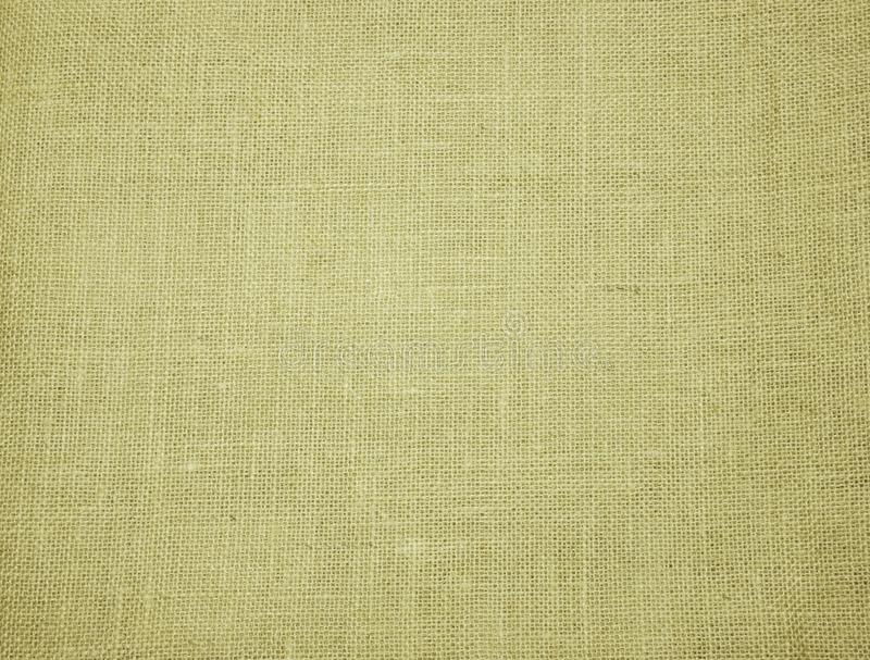 Hessian sackcloth woven texture background. In brown color stock image
