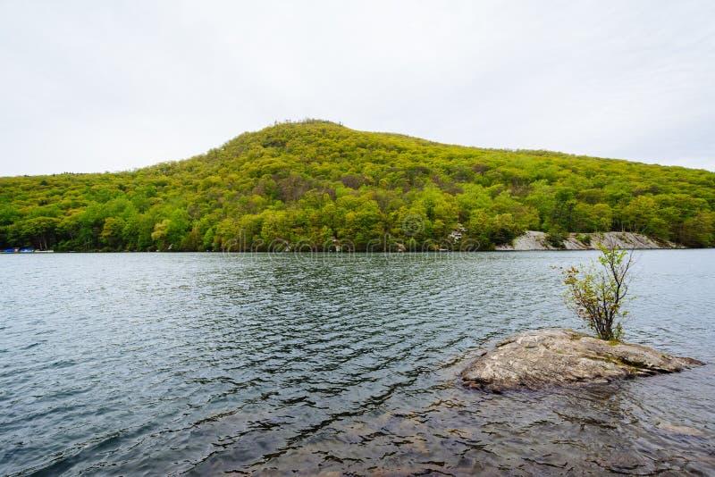 Hessian See, am Bear Mountain-Nationalpark, New York stockfotografie