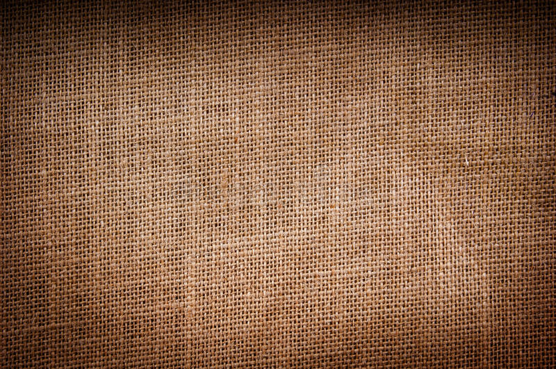 Hessian Texture. Hessian or burlap sack texture as background stock image