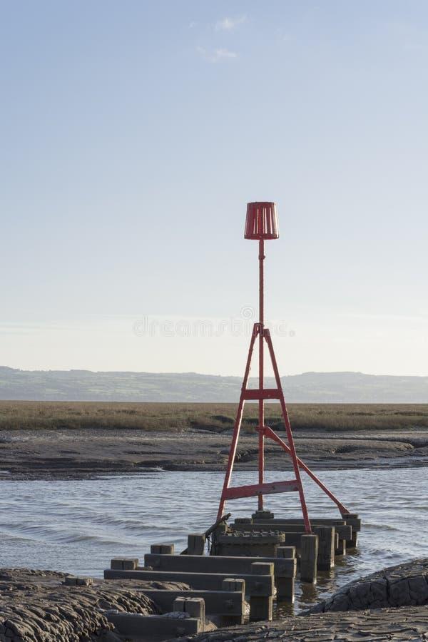 Free Heswall Boatyard Mooring And Slipway Sunset Royalty Free Stock Image - 71803746