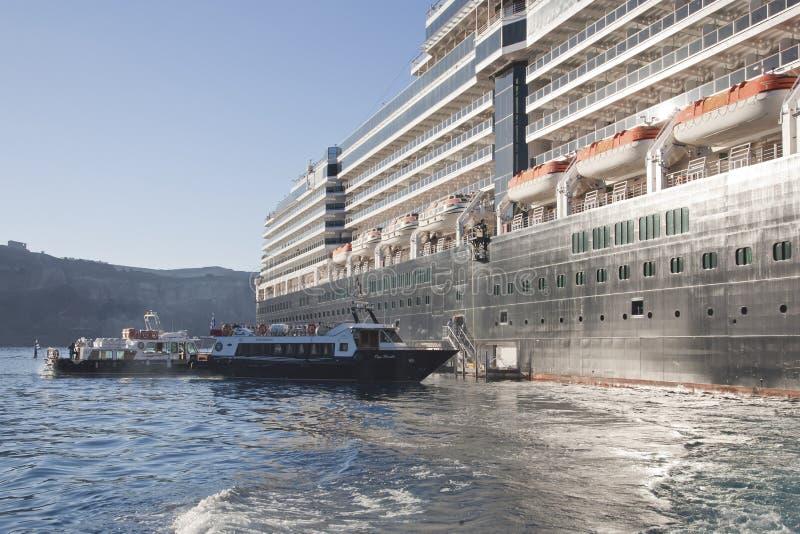 Het aan land gaan van schip royalty-vrije stock foto's