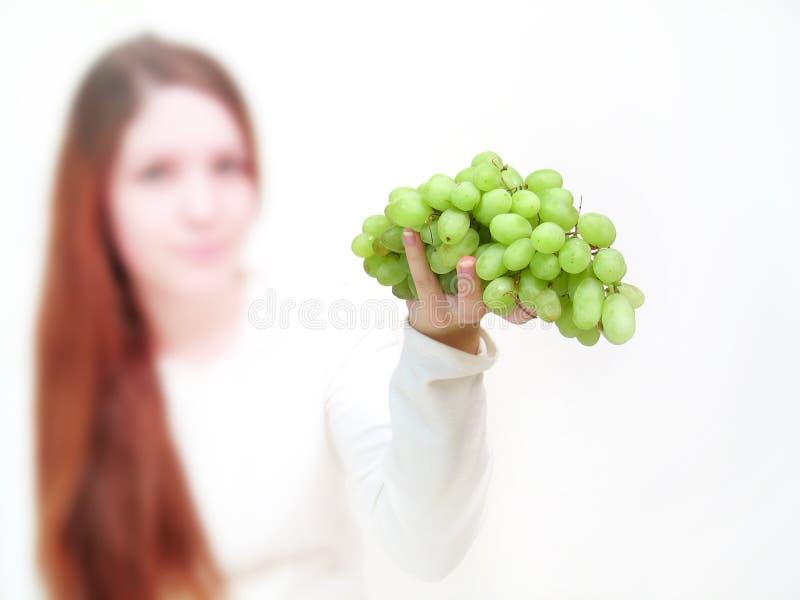 Het aanbieden van de druif royalty-vrije stock foto
